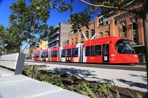 Newcastle light rail - Urbos - CAF - RailGallery