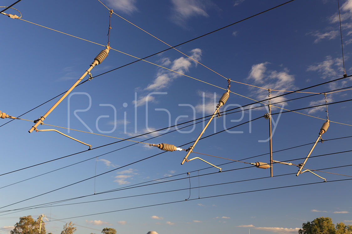 Overhead wires