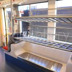 Newcastle light rail - Urbos interior - CAF - RailGallery