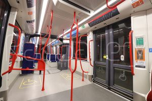 Transport Canberra - Canberra Metro light rail - Urbos interior