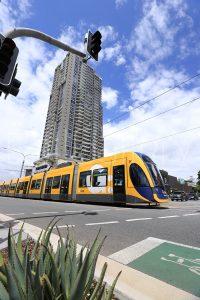 Gold Coast light rail - Flexity 2 Light rail vehicle