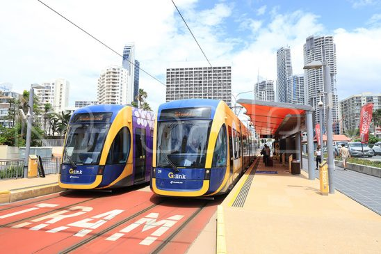 Gold Coast light rail - Flexity 2 Light rail vehicle