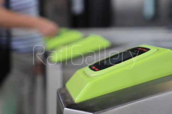 Melbourne trains ticket barrier - RailGallery