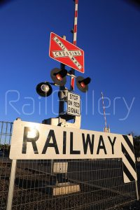 Signals at Railway Level Crossing - RailGallery
