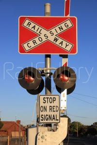 Signals at Railway Level Crossing - RailGallery