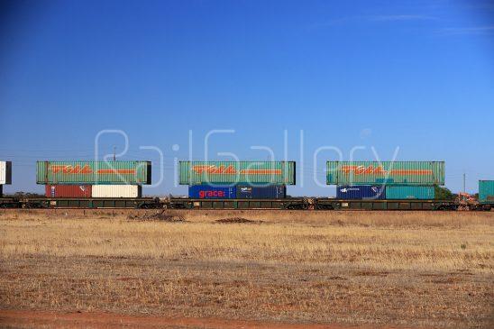 Double stack intermodal wagon - RailGallery