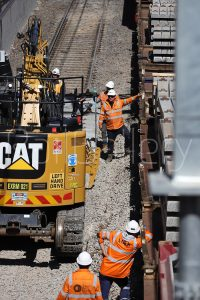 Victorian rail upgrade trackwork - RailGallery