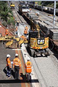 Victorian rail upgrade trackwork - RailGallery