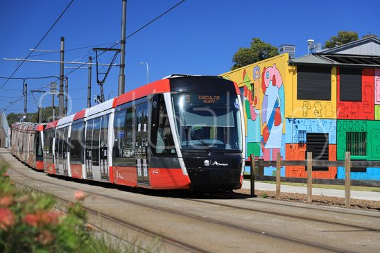 Alstom X05 Citadis light rail vehicle - Sydney Light Rail - RailGallery