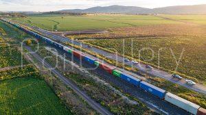 Intermodal freight wagon - RailGallery