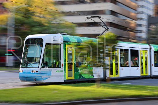 Melbourne C1 class Citadis tram - RailGallery