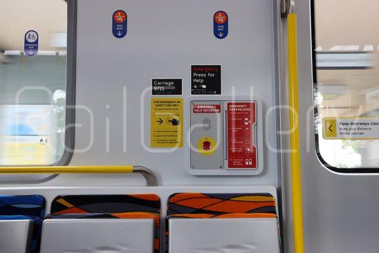Melbourne High Capacity Metro Trains HCMT Interior - RailGallery